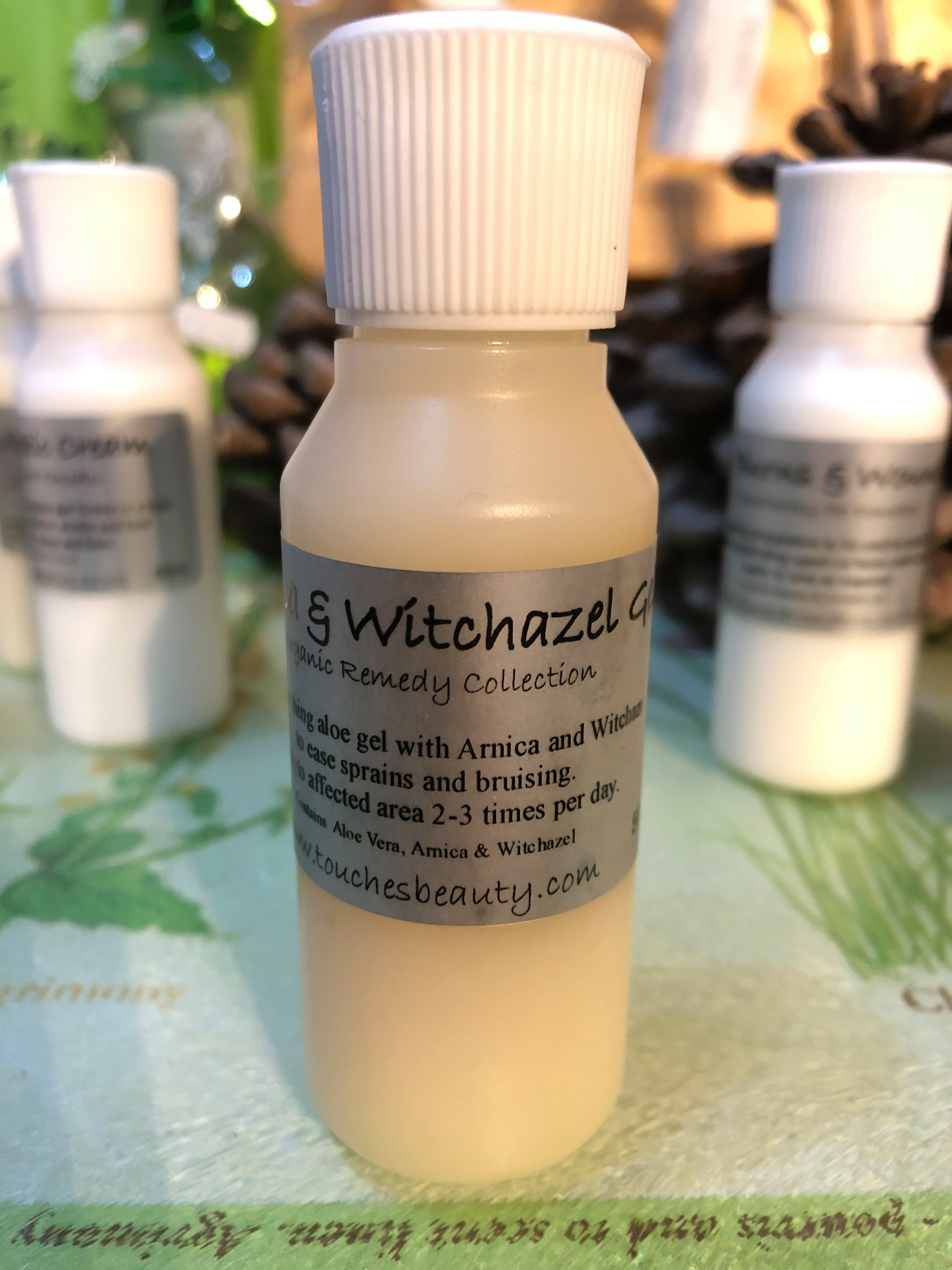 pet arnica and witchazel